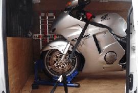 motorkerékpár költöztetés