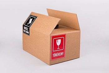 Hogyan címkézzük fel a dobozokat költözéskor