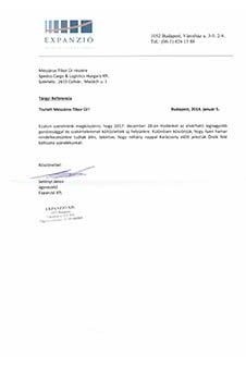 Expanzió Humán Tanácsadó Kft. irodaköltöztetés referencia